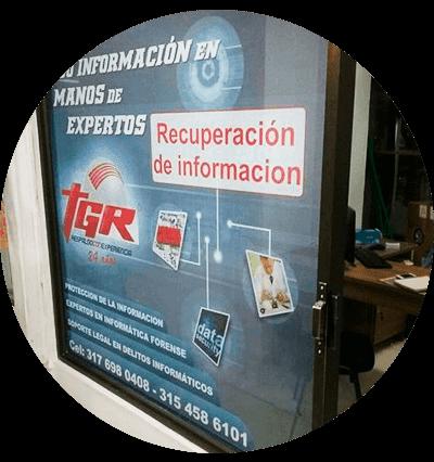 Oficinas TGR - Bogota